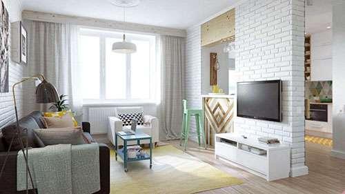 Однокімнатна квартира під Києвом